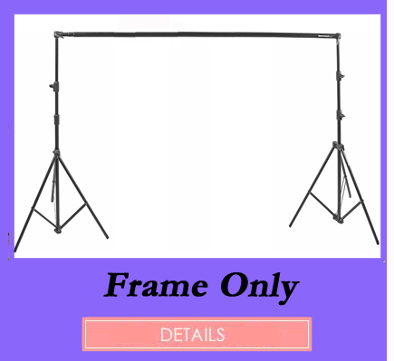 Backdrop Frame Only